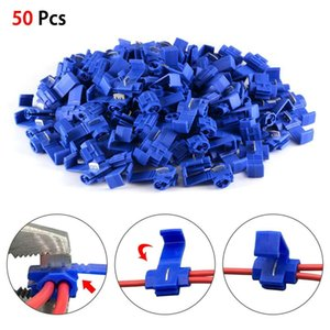 High performance soldered fast terminals for 50 pcs blue Scotch wire connectors for voltage connections