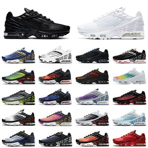 nike tuned air max airmax tn plus 3 2020 Top Quality Plus III Tn 3 Hommes Chaussures de course Tuned New Noir Bleu Volt Vert Sunset Triple Blanc Femmes Mode Sneakers Designer