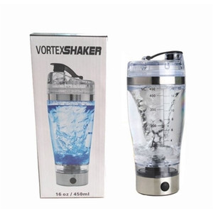 450ml BPA Free Protein Shaker Vortex Tornado Blender My Water Bottle Portable Electric Automatic Movement Mixing Mixer Smart Cup New