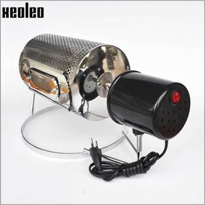 Xeoleo Gaz Kahve Kavurucular Otomatik Döndürme Kahve Baker Ev Kahve Çekirdeği Kavurucular Fıstık / Kavun Tohumları için Uygun 600g Y1207