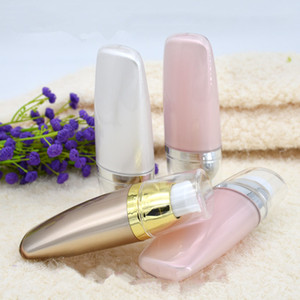 30ml Empty BB Suncream Squeeze Acrylic Tubes Cosmetic Wash CC Cream Foundation Packing Press Pump Airless Bottles 10pcs lot