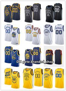 Özel Baskı Basketbol Alfonzo McKinnie Jersey 28 Omari Spellman 4 Marquese Chriss Damion Lee Ky Bowman Andrew Wiggins Erkek Kadın Gençlik