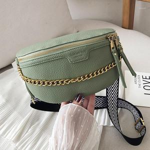 حقيبة المرأة حزام بو الجلود سلسلة فاني حزمة bananka حقيبة على حزام الأزياء البرية حقيبة المرأة البطن الفرقة الخصر 1