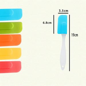 1pcs Mini Silicone Scraper Detachable Cream Spatula Cake Tools Kitchen Accessories Kitchen Gadgets