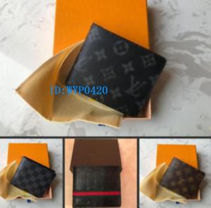 2020 yeni çanta Ücretsiz kutu 118 ile yüksek kaliteli Ekose desen kadın cüzdan erkekler pures high-end ler tasarımcı cüzdan cüzdan nakliye