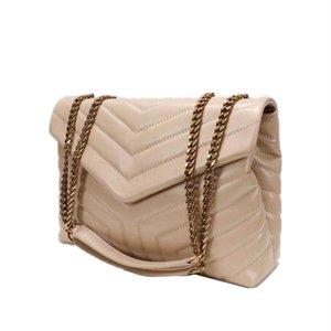 Donne Designer Designer Borse Borse Borse Piazza Grasso Le Borsa a catena Leather in pelle Borse a tracolla di grandi dimensioni Trapunte Messenger Alta qualità