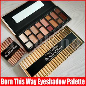 New Eye Makeup Born This Way-Augen-Schatten der Natur Akt Glitter 16 Farben-Augen-Schatten-Schimmer Matt Lidschatten-Paletten