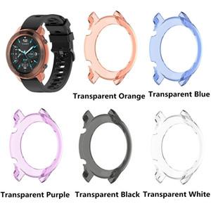 TPU trasparente Guarda copertura protettiva Smartwatch caso della protezione Shell per Ticwatch GTX Guarda Accessori