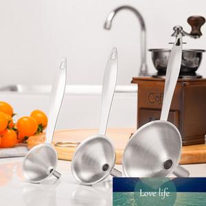 3pcs Acciaio inossidabile Maniglia in acciaio Impostare l'olio di Essentail Blashat Transferring Bock Utensili da cucina