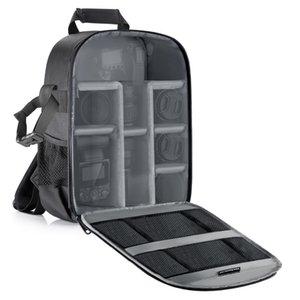 Neewer Camera Backpack قسم مرن التقسيم مبطن حقيبة مقاوم للصدمات إدراج حماية ل SLR DSLR كاميرات مراكة وعدسات Q1222