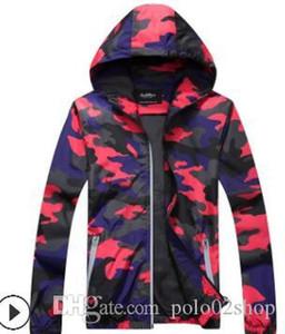 2020 New Autumn Men's Camouflage Jackets Male Hoodie Bomber Jacket Mens Windbreaker Zipper Outwear Plus Size M-5XL