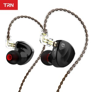TRN BA8 16BA Driver Unit In Ear Earphone 18 Balanced Amarture HIFI DJ Monitor Earphone Earbuds With QDC Cable TRN VX V90 T200