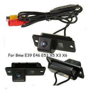 Câmeras traseiras da vista traseira Câmeras Sensores de estacionamento 12V 170 graus Ângulo de lente invertendo Câmera Câmera CCD Fit 420 TVL para 3 7 5 Série E53 E39 E46 x5 x3 x61