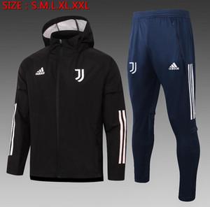 20 21 Roma para hombre sudadera con capucha de la chaqueta de los kits de abrigo de invierno Strootman chándales camiseta de fútbol Dzeko cazadora N'Zonzi de fútbol prueba de viento