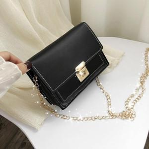 Crossbody Bags Female Women's Fashion Flap Messenger Bag Small Square Bag Shoulder Messenger Bags Hasp Handbags Female #LR2