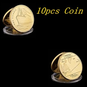 10pcs 1912 Titanic Anniversary Memory Of Rms Victims Commemorative Tragedy Of The Titanic Collection Coin