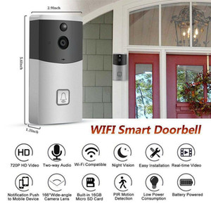 WiFi Ring Doorbell Smart Wireless Bell Camera Video Phone Intercom Home Security Call Intercom for Apartment door bell Ring1