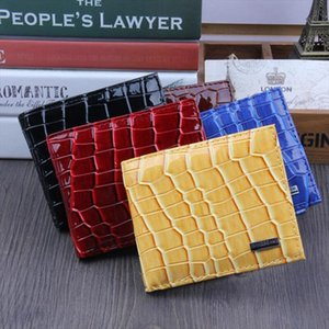 Classic Style Wallet Color PU Leather Men Wallets Short Male Purse Card Holder Wallet Men Fashion Zipper Wallets Gift