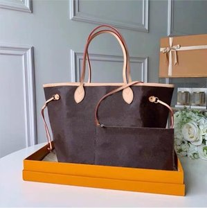 Bolsas de grife 2019 Estilo Clássico Mais Vendidos Naverfull Cow High Leather Top Quality Luxury Handbag Handle Shoulder Bag