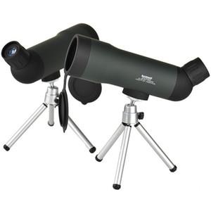 Taşınabilir Tripod T191022 ile 20x50 Yakınlaştırma Hd Monoküler Açık Teleskop Gece Versiyon Spotting Kapsam