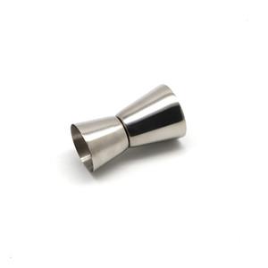 الفولاذ المقاوم للصدأ النبيذ كوب قياس 15/30 مل ml مصقول مزدوج الرأس كوب متعددة الوظائف بار أوقية شاكر كوب 4 ألوان شريط أدوات YYF4333