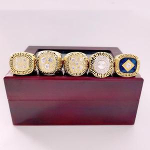 1984 1985 1987 1988 1990 Edmonton Oilers Stanley Cup Takım Souvenir Şampiyonlar Şampiyonası Ring Ahşap Kutu Vaka Fan Erkekler Hediye 2020
