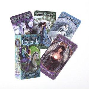 Hot Sell Tarocchi per Legend Tarot tavolo Giochi Deck carte da gioco per Game Party bbyeZf bwkf