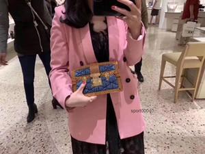 M55047 M55047 modern lady handbag single-shoulder Chain handbag lady s bag Man s briefcase Shoulder Bags messenger bag mobile