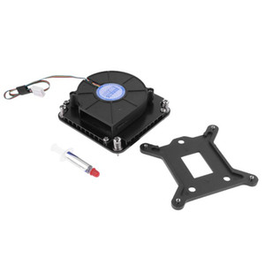 4pin PWM Turbo Cooling Fan Utral-Thin 29mm w  Mounting Bracket for 1U Server CPU Cooler PC Cooling For Intel LGA1151 1150 1155