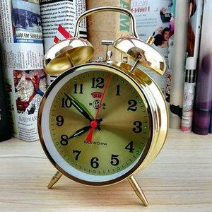 Luxury Metal Digital Fashion Projection Simple Alarm Clock Relojes Despertadores De Mesita Retro Decoration Oo50ac