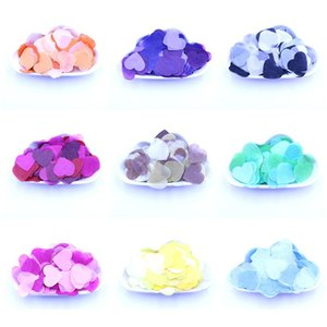 10g Per Bag 1 Inch Tissue Paper Heart Confetti Filling Balloons Baby Shower Wedding Birthday Party Table Dec bbyenI