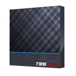 T95max+4K 5G Dual WiFi 4GB 64GB S905X3 Quad core Android 9.0 TV Box 4GB 32GB 4GB 64GB