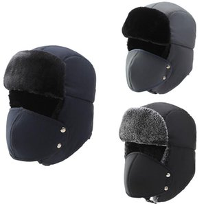 SEWS-Winter Waterproof Lei Feng Hat Outdoor Cold and Warm Cycling Hat Plus Velvet Thick