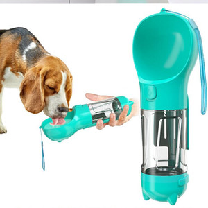 Dog Water Bottle For Small Large Dogs 300ml Travel Puppy Cat Portable Drinking Bowl Outdoor Pet Water Dispenser Feeder Pet Product ZYY482