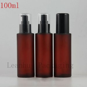 100ml Red Frosted Glass Bottle,Makeup Setting Spray,Refillable Perfume Atomizer Spray,Empty Cosmetic Containers,Alibaba-Express