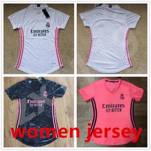 2020 2021 Real Madrid Mulheres Jerseys Home Away 3ª Mulher Feminina Camiseta Odegaard Benzema Asensio Maillot # 7 Hazard 20 21 Menina Camisa De Futebol