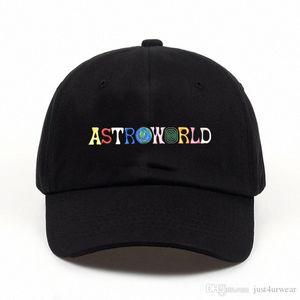 Mens Womens ASTROWORLD Fashion Hats Letter Print Caps Male Hip Hop High Street Caps Baseball Caps Lovers Hats Fwjk#