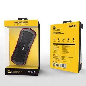 W-King Waterproof Bluetooth Speaker S19 TF Card U-Disk AUX Play 10W Outdoor X-Bass Dusty-Proof Shockproof Wireless Subwoofer
