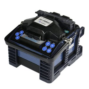 Av-fsm02 4 motor fuse German technology, portable optical fiber fuse machine accurate and fast fusion