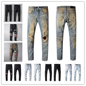 2020 Sıcak Erkek Jeans Yeni Moda Basit Yaz Hafif Jeans Erkek Büyük Beden Günlük Katı Klasik Düz Kot Balmain