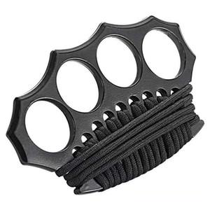 Высококачественные азановые латунные костяшки костяшки кустарки, четыре пальца железо, встроенная сталь формирования EDC инструменты бесплатная доставка 045645