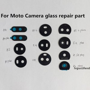 10Pcs Back Rear For Motorola Moto E4 G4 G5 G5s G6 G7 Play Plus Power X4 Camera Glass Lens Circle Cover With Adhensive