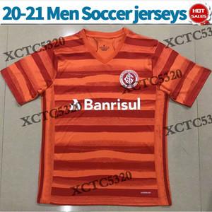 2020 2021 스포츠 클럽 국제 축구 유니폼 세 번째 남성 축구 셔츠 짧은 소매 짧은 소매 풋볼 유니폼 맞춤형 축구 유니폼
