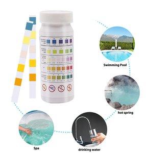 5-in-1 Piscina cloro residuo valore pH alcalinità durezza Test Strip