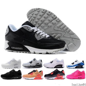 2020 Men Sneakers Shoes Classic 90 Men and woman Shoes Sports Trainer Air Cushion Surface Breathable Sports Shoes 7-11 luai01