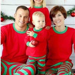 Xmas Ins Crianças Adulto Verde Verde Família Verde Christmas Cervo Pijamas Sleepwear Pijamas Pijamas Pijamas SleepCoat Esmaily Free FedEx