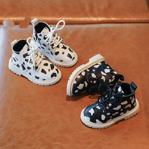 Winter Autumn Shoes Casual Baby Boots Kids Non-slip Warm Boots Boys Girls Sneakers Baby Short SZ319
