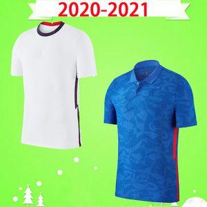 England 2020 2021 Jersey di calcio Casa Bianco Away Blue Lingard Kane Sterling Football Camicia Adulto Vardy Boys Dele 20 21 Mens Kit bambini Kit