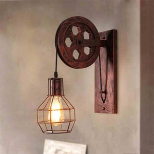 Tieyi loft industrial style personalized bar restaurant American Cafe decoration E27 wall lamp