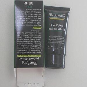 Máscara de succión Negro 2019 espinillas faciales removedores de colágeno máscara máscaras Fa SHILLS limpiadora purificante profundo Peel Negro Peel Mask 50 ml de LDAC